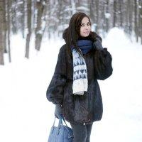 Зимний портрет. :: Иван Степанов