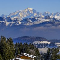 Белая Гора (Mont Blanc) 4807 m :: Георгий А