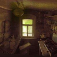 Старинная кухня :: Олег HoneyPhoto