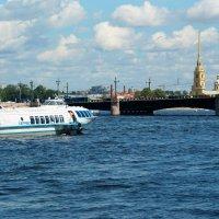 Дворцовый мост :: Алексей Кудрявцев