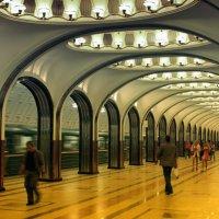 Московское метро :: Анатолий Калмыков