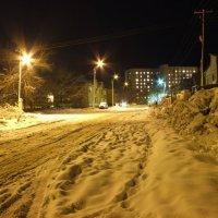 Улица, Ночь. :: Дмитрий Скубаков