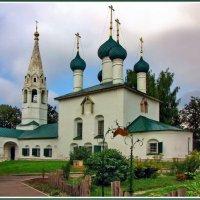 Церковь 17 века :: Евгений Печенин