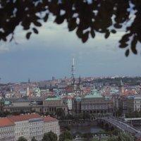 Вид со стены Пражского Града на старый город :: Максим Марсов