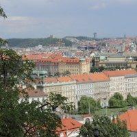 Вид со стены Пражского Града :: Максим Марсов