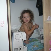 Моя доченька Александра. :: Юлия Осипова