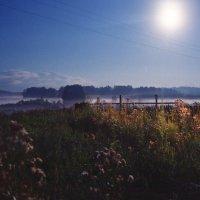 Ночной туман :: Андрей Еремеев