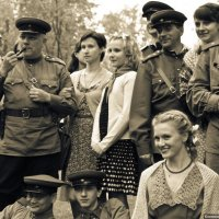 Встреча старых друзей :: Илья Кузнецов