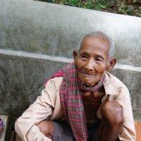 Камбоджа.Старик. :: Лариса Борисова