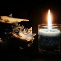 При свече :: Ульяна Загуменная