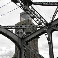 Большеохтинский мост (мост Петра Великого) :: Алексей Кудрявцев