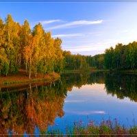 Вечернее озеро :: Георгий Муравьев