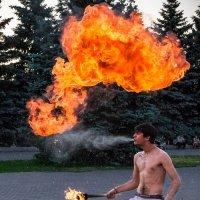 огненное дыхание :: Владислав Ершов