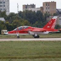 Як-130 в фирменном, яковлевском окрасе :: Павел Myth Буканов