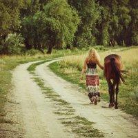 Вместе по одной дороге :: Виктория Блинова