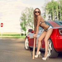 девушка с битой ) :: Сергей Вилькевич   (Vilione)