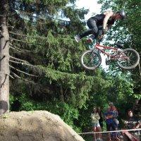 Акробатика на велосипеде :: Дмитрий Ерохин