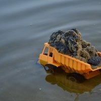 чистка пляжа :: Виктор Сопильняк