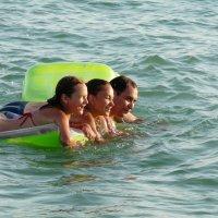 Счастье быть в море :: Анна Хоменко