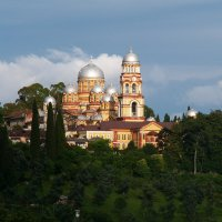 Новоафонский мужской монастырь. Абхазия :: Павел Савин