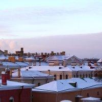 Пролетая над крышами :: Татьяна Старчикова