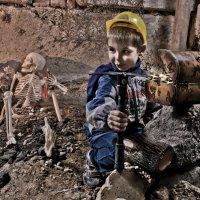 Сокровища - Как бы никто не увидел..! :: Geopolevik Егорчев Сергей