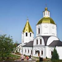 храм Богоявления, п. Терновое :: Дарья Казбанова