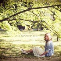 портрет в парке :: Виктория Еремеева