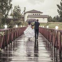 свадьба под дождем :: Максим Тельнов