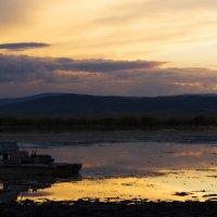 Закат на Белом озере :: Сергей Фурсов