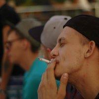 никотиновый вздох :: kirill fokin
