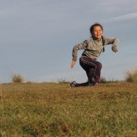 Танец в степи :: Ольга Иргит