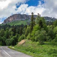 Хребет Каменное море,скала Нагой-Кош... :: Юлия Бабитко