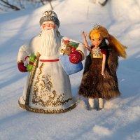 День деда Мороза и Снегурки :: Андрей Заломленков