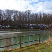 Январь...У реки... :: Galina Dzubina