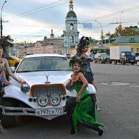 На улицах Москвы :: Борис Соловьев