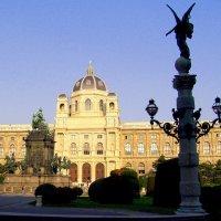 Площадь музеев в Вене :: Лара Амелина