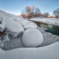 Морозное утро на реке Серой. :: Николай Андреев