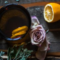 Чай с лимоном :: Nika Polskaya