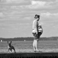 собачка с дамой :: Денис Козлов