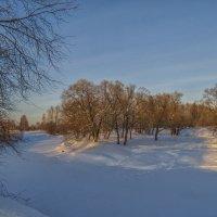 Зимняя река :: Сергей Цветков