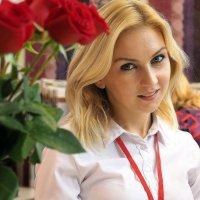 нежность розы :: Олег Лукьянов