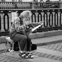 Уличный виртуоз :: Андрей Пахомов