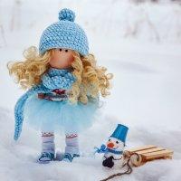 Снегурочка в синем платье :: Dmitriy Skiy