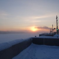 Очень морозный день :: Елена