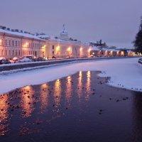 зимний вечер на Фонтанке :: Елена