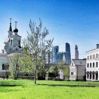 Крестовоздвиженский храм на Чистом вражке :: Сергей Беличев