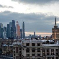 вечер над Москвой :: Сергей Лындин