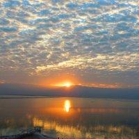 Рассвет. Февраль. Мертвое море. :: Гала