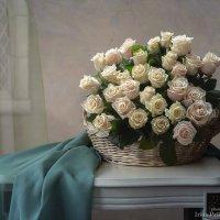 Натюрморт с белорусскими розами :: Ирина Приходько